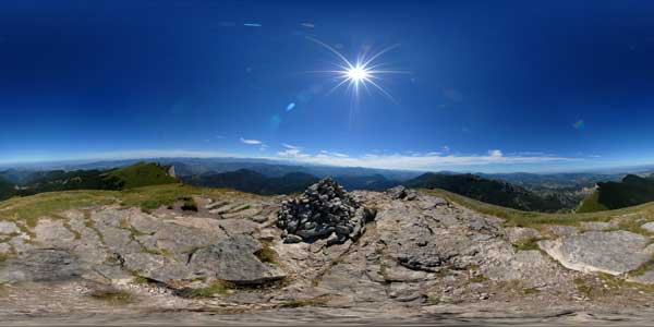 drome, les 3 becs in 360°, alps