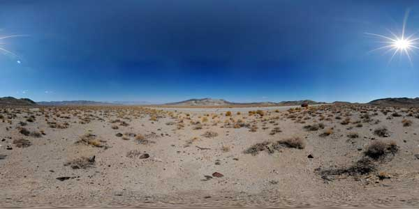 death valley in 360°, california, usa