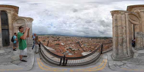 Florence, view from the dome of Santa Maria Del Fiore, Italy