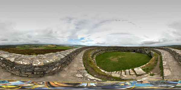 Ireland in 360°, Grianan of aileach