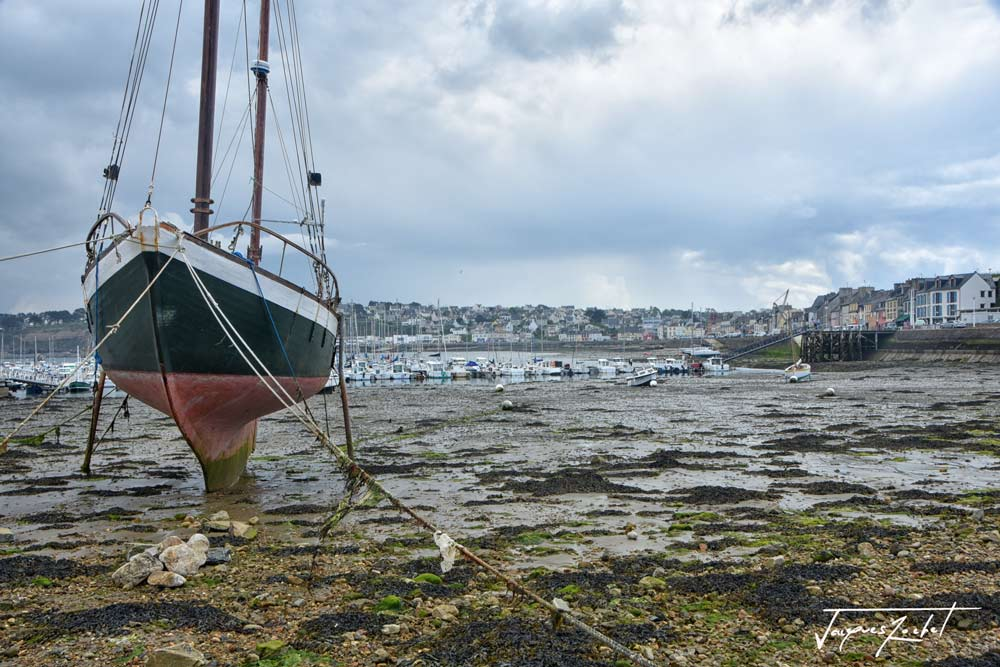 Camaret Sur Mer at low tide...
