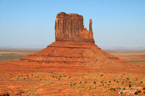 Monument Valley, On the border between Arizona and Utah