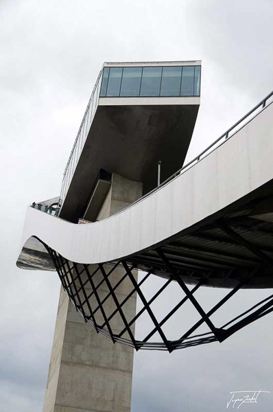 Bergisel ski jump at Innsbruck, architecture of Zaha Hadid