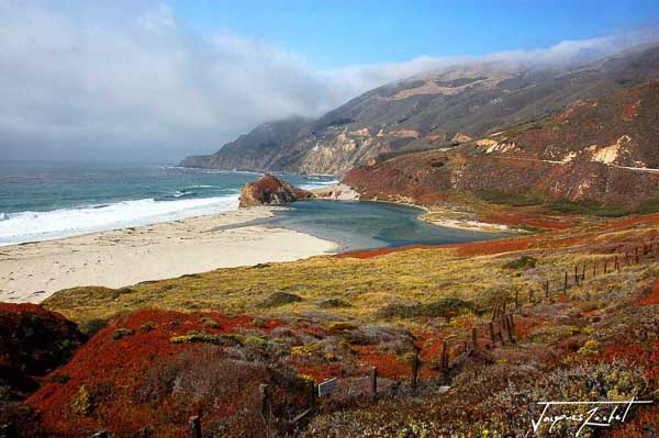 vue de Big Sur en Californie