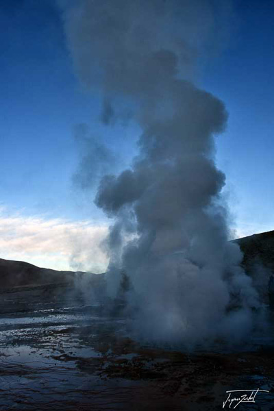 Photo du Chili, Les geysers d'El Tatio