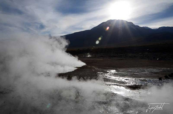 Photo of Chile, geysers d'el tatio, 4200 m
