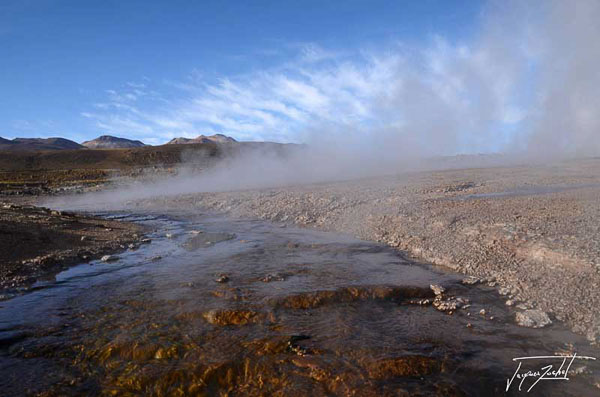 Photo du Chili, geysers del tatio