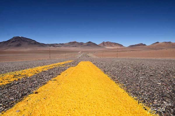 Photo of Chile, Route 27 CH, from San Pedro to Paso Jama, the Andean Altiplano, 4200 m