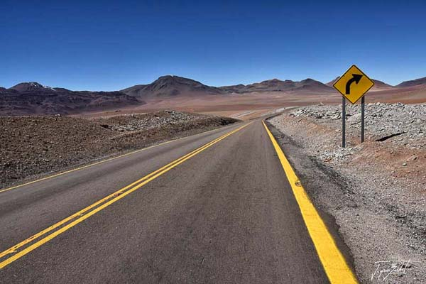 Photo du Chili, route 27 ch from san pedro de atacama to paso jama on the altiplano at 4250 m altitude