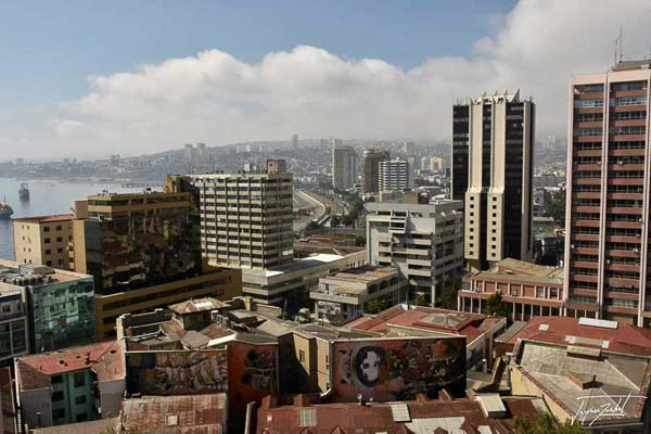 Photo of Chile, port city of Valparaiso