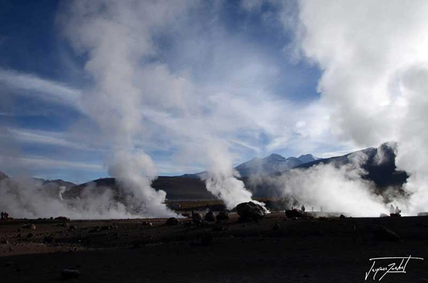 Photo of Chile, the geysers d'El Tatio
