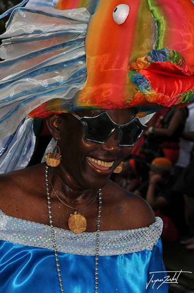the carnival of Fort De France in Martinique, French West Indies