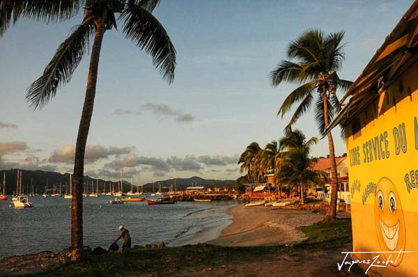 Saint Anne in Martinique, French Antilles
