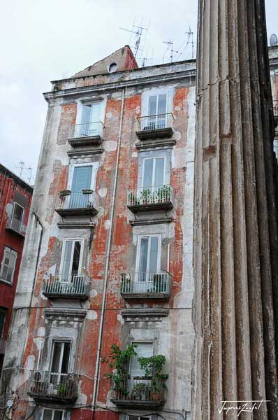 Architecture of old Naples