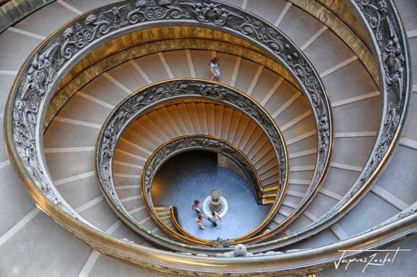 The Bramante Staircase, Vatican Museum