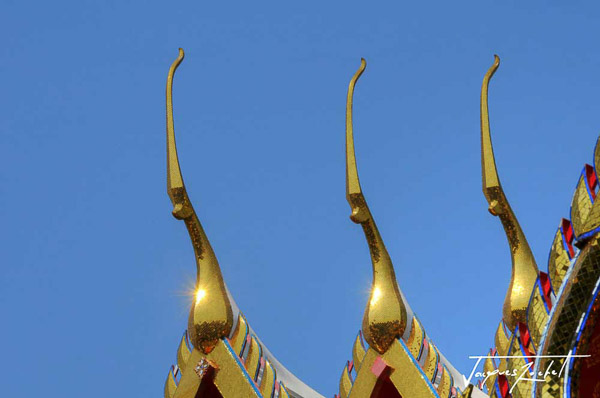 Wat Pho à Bangkok, detail of architecture