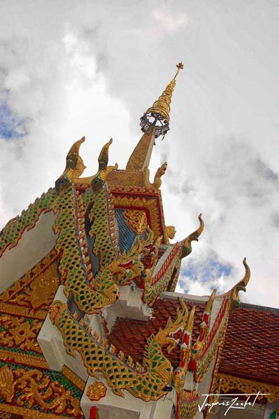 Temple of wat doi suthep in Thailand