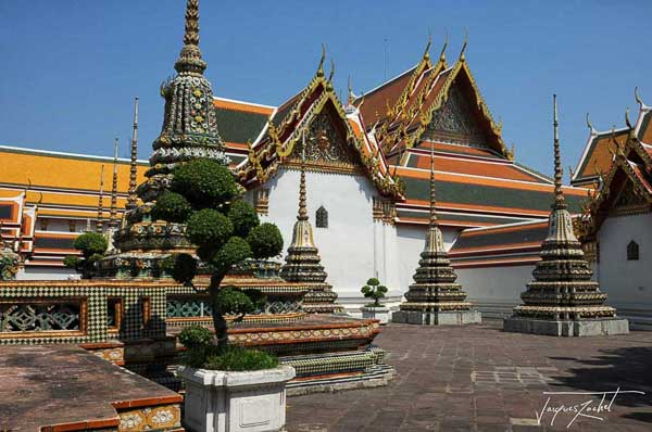 Wat Pho in Bangkok, temple bouddhist