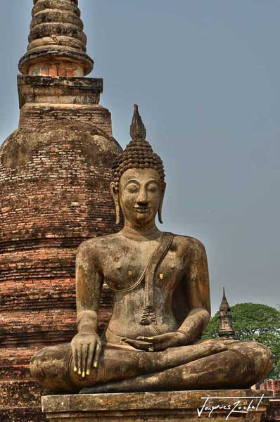 sukhothai old city, thailand, asia