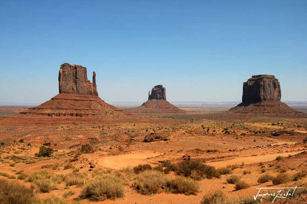 Travel to USA, Monument Valley in Utah