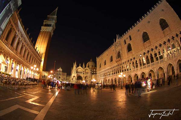 venice by night, Piazza San Marco